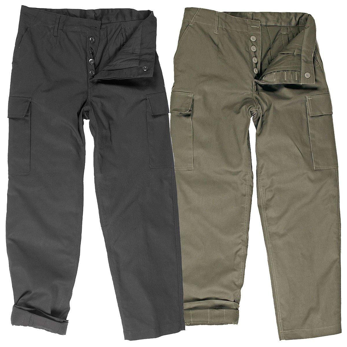 ORIGINALE esercito tedesco Leo Köhler BW termici esercito tedesco pantaloni foderati