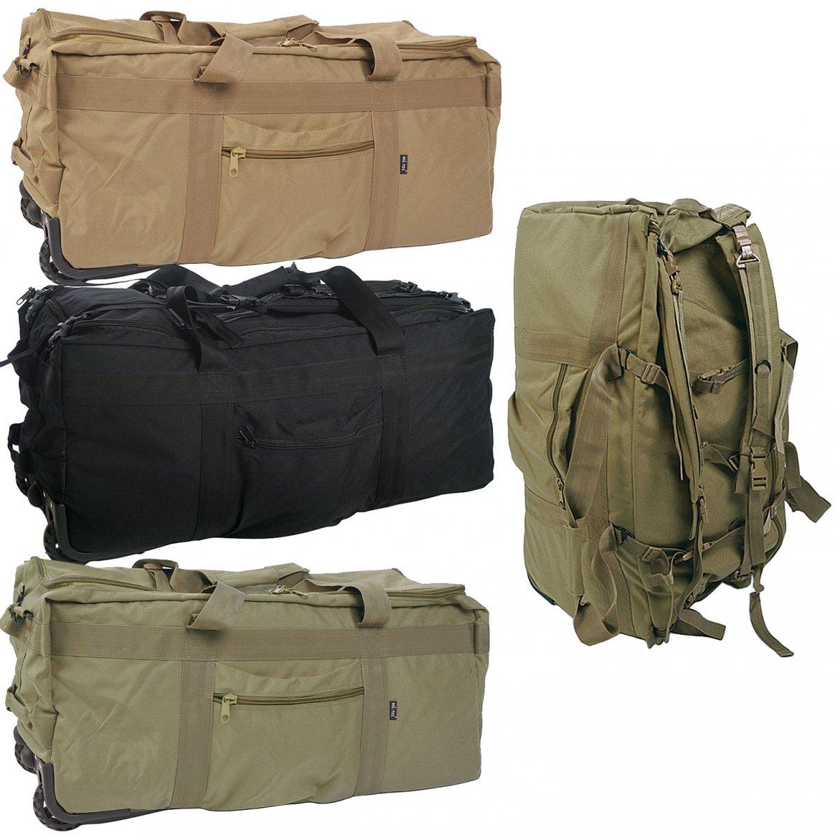 kampftrageseesack mit rollen 100 l seesack rucksack armee reisetasche tasche ebay. Black Bedroom Furniture Sets. Home Design Ideas