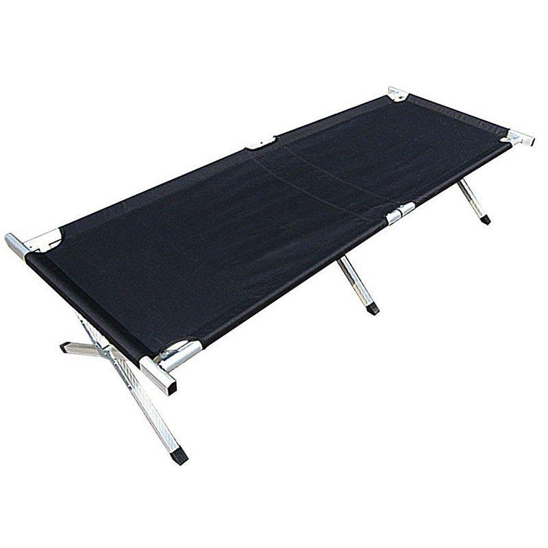 us feldbett mit alu gestell schwarz der gro e bundeswehr shop army 47 90. Black Bedroom Furniture Sets. Home Design Ideas