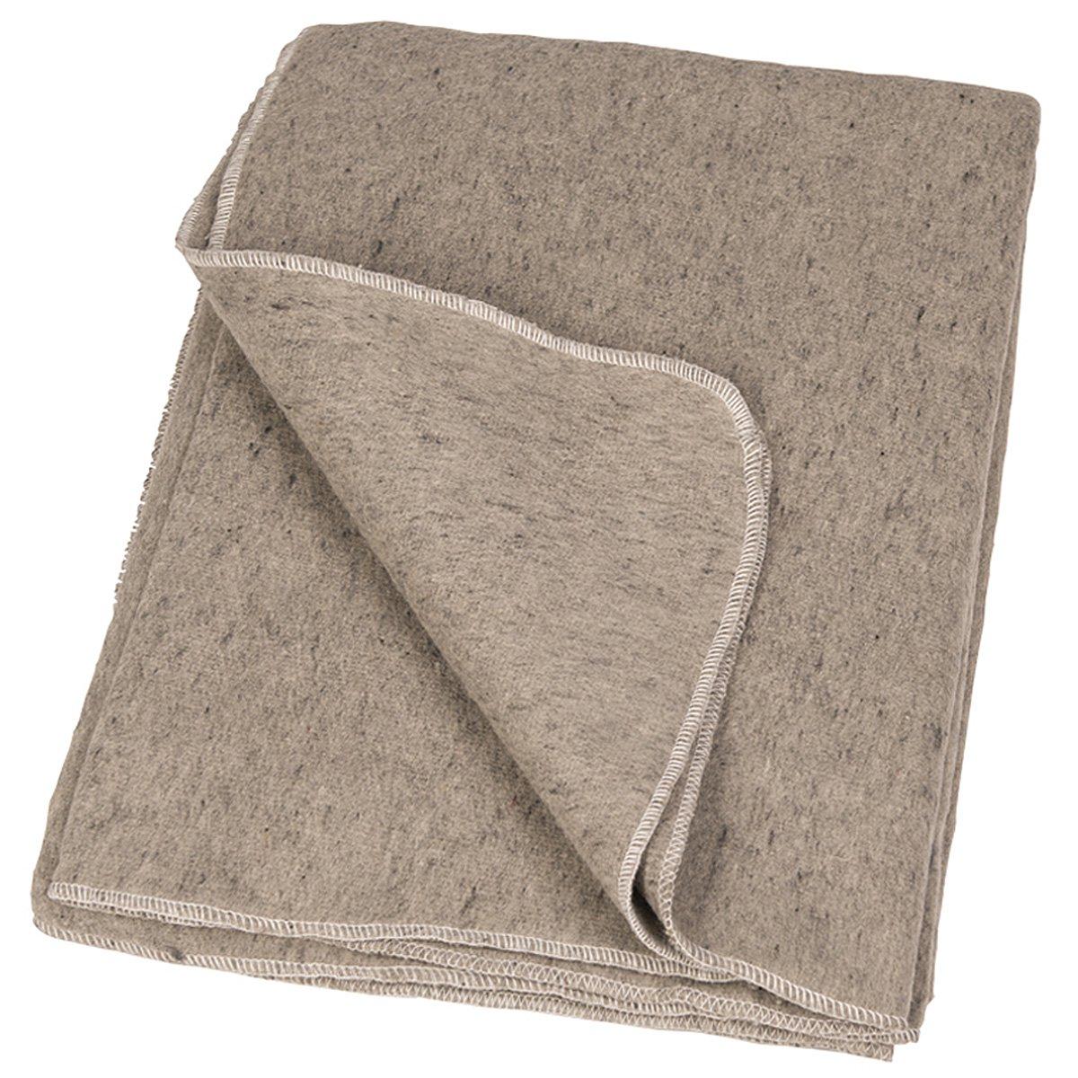 wolldecke katastrophenschutz grau neuwertig 16 90 o. Black Bedroom Furniture Sets. Home Design Ideas