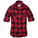 Amy Flanell Shirt Girls rot-schwarz kariert