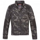 BRANDIT Blake mens Jacket darkcamo