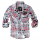 BRANDIT Check Shirt grau