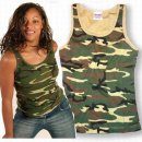 Damen Tank Top woodland