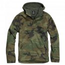 Hooded Windbreaker woodland, M