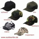 Kinder-Baseball-Cap flecktarn