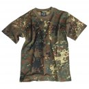 Kinder T-Shirt, flecktarn
