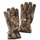 Polarfleece Handschuhe, brown wild tree