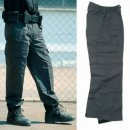 Security Seven Pocket Pants, schwarz