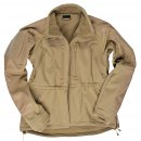 Softshell Jacke MIL-TEC plus, coyote