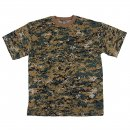 Tarn T-Shirt, digital woodland, XL