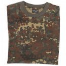 Tarn T-Shirt, flecktarn, XL