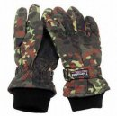 Thermo-Fingerhandschuhe Thinsulate, flecktarn