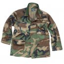 US BDU Jacke Kids, woodland, M
