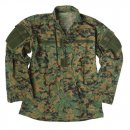 US Feldjacke ACU Ripstop, digital woodland, XL