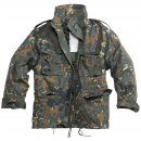 US Kinder Feldjacke M65, flecktarn, XL