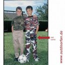 US Kinderhose BDU red camo, L