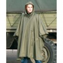 US Poncho Ripstop, oliv