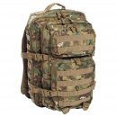 US Rucksack ASSAULT Pack II large, arid-woodland