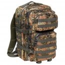 US Rucksack ASSAULT Pack II large, flecktarn