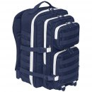 US Rucksack ASSAULT Pack II large, navy-weiss