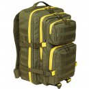 US Rucksack ASSAULT Pack II large, oliv-gelb