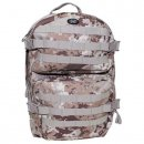 US Rucksack ASSAULT Pack II large, vegetato desert