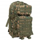 US Rucksack ASSAULT Pack digital woodland