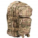 US Rucksack ASSAULT large LASER CUT multitarn
