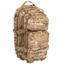 US Rucksack ASSAULT small LASER CUT multitarn