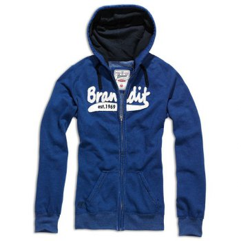 BRANDIT Girls Sweatjacke blau