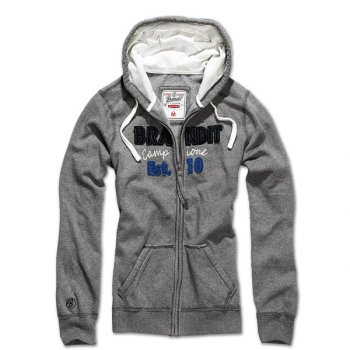 BRANDIT Girls Sweatjacke grau