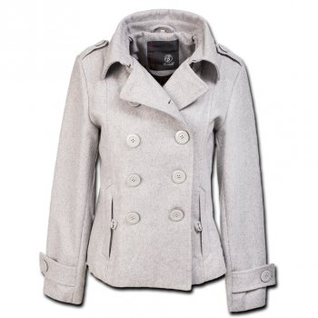 BRANDIT Ladies Upper East Coat grau, XL