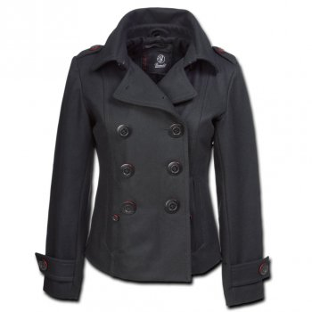 BRANDIT Ladies Upper East Coat schwarz, XL