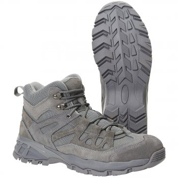 BRANDIT Outdoor Schuhe Trail Mid anthrazit, 40
