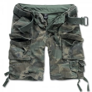 BRANDIT Savage Shorts woodland, M