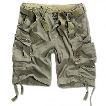BRANDIT Savage Studs Shorts oliv 3XL