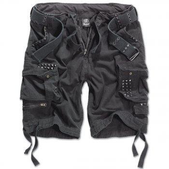 BRANDIT Savage Studs Shorts schwarz XL