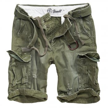 BRANDIT Shell Valley Shorts oliv, M