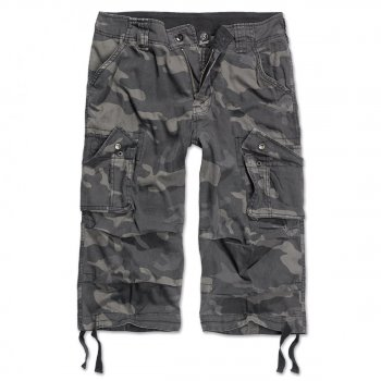 BRANDIT Urban Legend ¾ Trousers darkcamo, XL