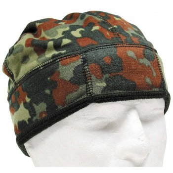 BW M�tze Fleece flecktarn, 59-62