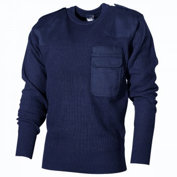 BW Pullover Acryl, navy, 60