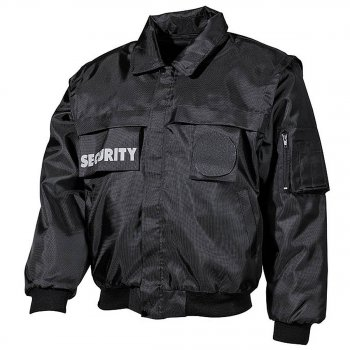 Blouson Security schwarz, 4XL