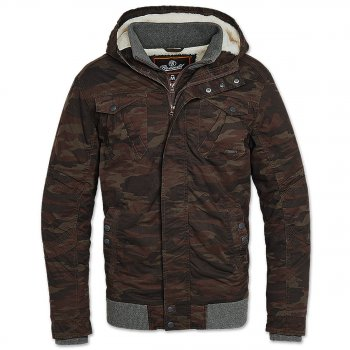Brandit Parkmont Jacket brown-camo, L
