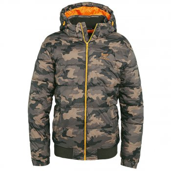 Brandit Steppjacke Cold Harbour woodland, S
