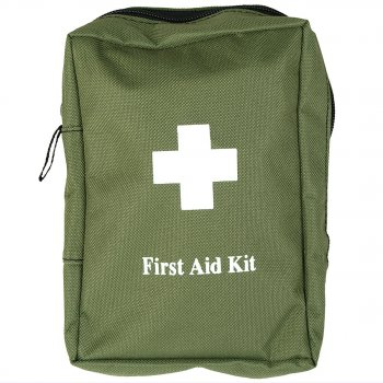 First Aid Kit large, oliv
