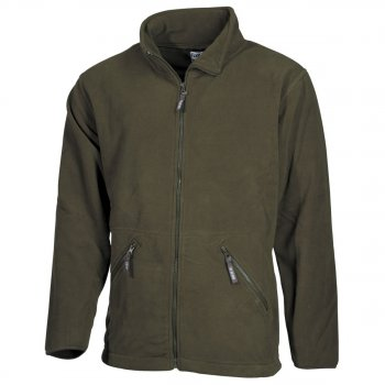 Fleece-Jacke Arber oliv