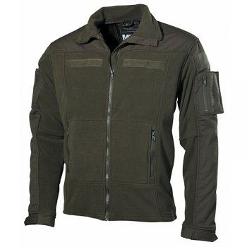 Fleece-Jacke COMBAT oliv