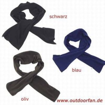 Fleece-Schal, oliv