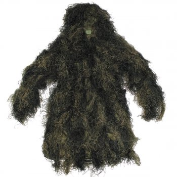 Ghillie Parka ANTI FIRE, woodland